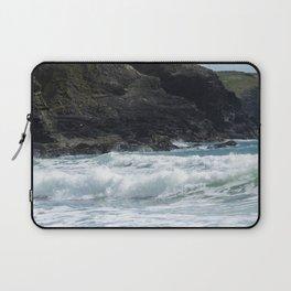 White Surf Laptop Sleeve