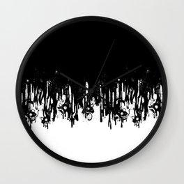 Meltdown Wall Clock