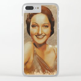 Dorothy Lamour, Hollywood Legend Clear iPhone Case