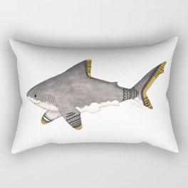 Tribal Shark Rectangular Pillow