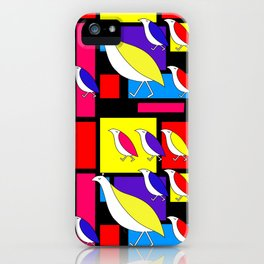Partridge Parade iPhone Case