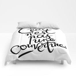 This is not art. Comforters