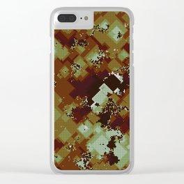 Algorithmic autumn Clear iPhone Case