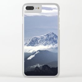 Bavarian Alps, Germany. Clear iPhone Case