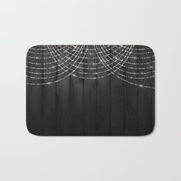 Fairy Lights on Wood 03 Bath Mat