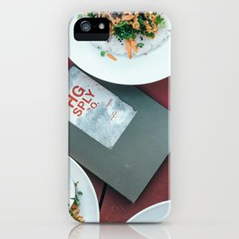 Beautiful Food by Nate Johnston iPhone Case