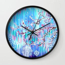 Sakura in Spring Wall Clock