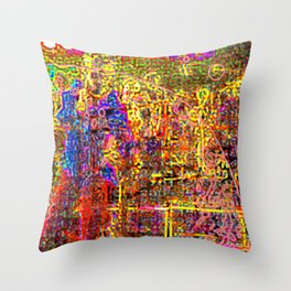 It's Been Awhile Throw Pillow