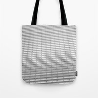 gray pattern Tote Bags featuring Gray Pattern by theGalary