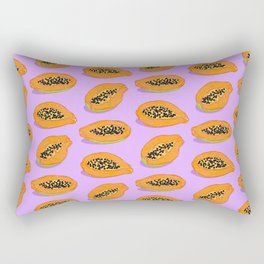 Papaya Rectangular Pillow