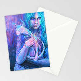 Friday Night Fortuneteller Stationery Cards