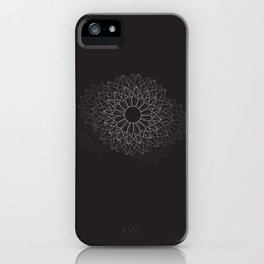 Spiral #abstract #dark iPhone Case
