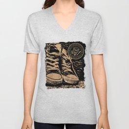 Ramones Shoes Unisex V-Neck