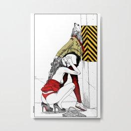 asc 702 - Les nouveaux terrains de chasse (I guess my spirit animal is a wolf) Metal Print