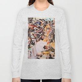 Medusa - Magazine Collage Long Sleeve T-shirt