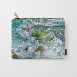 Sea and Wave Carry-All Pouch