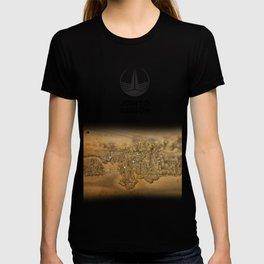 Johto Region Map T-shirt
