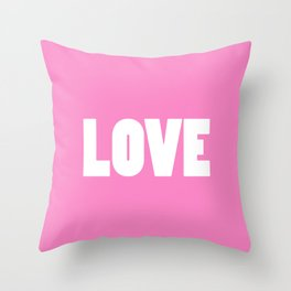 bright love Throw Pillow