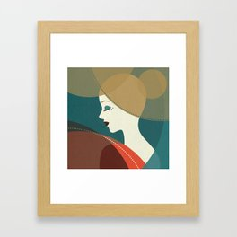 Venn Deco (Part III) Framed Art Print