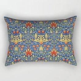 "William Morris ""Snakeshead"" edited 3. Rectangular Pillow"