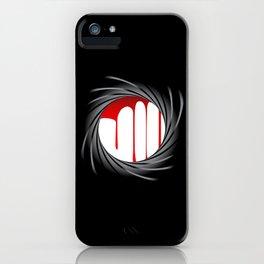 Barrel Blood iPhone Case
