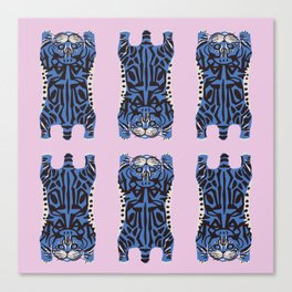 American Shorthair Pattern Canvas Print