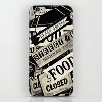 food iPhone & iPod Skins featuring FOOD by Vivian Fortunato