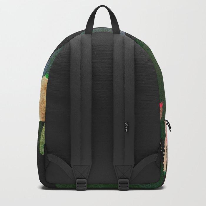 strange cactus Backpack