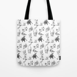 Modern Bestiary Tote Bag