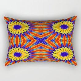 Arizona Floral Mandala Pattern Rectangular Pillow