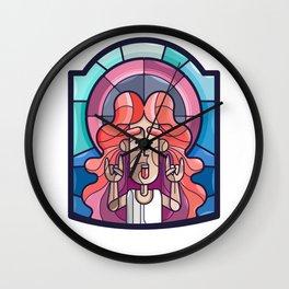 The Holy Rocker! Wall Clock