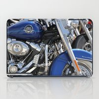 harley iPad Cases featuring Harley by Veronica Ventress