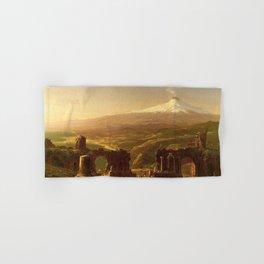 Thomas Cole - Mount Etna from Taormina Hand & Bath Towel