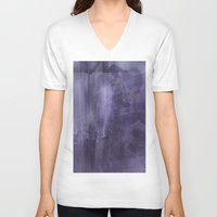 psychology V-neck T-shirts featuring Ecphory by Art by Mel