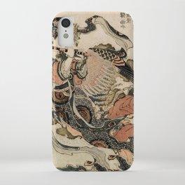 Hokusai, Aspara and the flute – musician manga, japan,hokusai,japanese,北斎,ミュージシャン iPhone Case