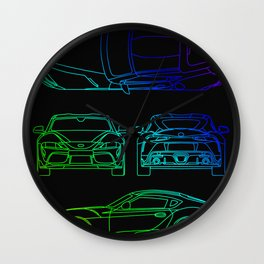 GR Supra Mk 5 Wall Clock