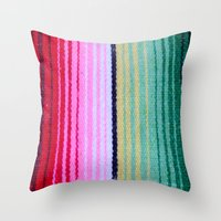 blanket Throw Pillows featuring Blanket by John Lyman Photos