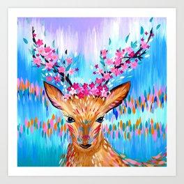 Woodland Creature Art Print