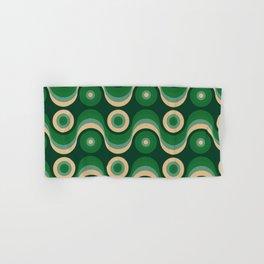 70s Optical Wallpaper Hand & Bath Towel
