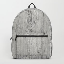 Old white wood Backpack