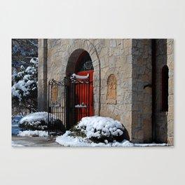 Portiuncula  Chapel Doors Canvas Print