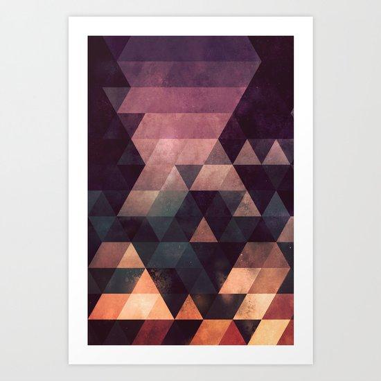 ryyt yss Art Print