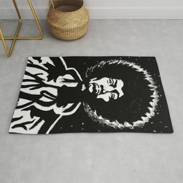JIMI BLACK & WHITE Rug