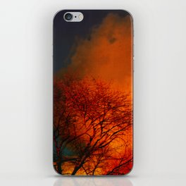 Violent Autumn #2 iPhone Skin