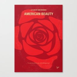 No313 My American Beauty mmp Canvas Print