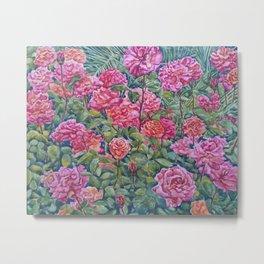 Rose Garden of Love & Hope Metal Print