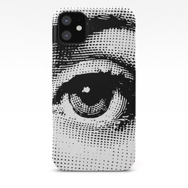 Lina Cavalieri - left eye iPhone Case