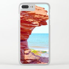 Scarlet Formation Clear iPhone Case