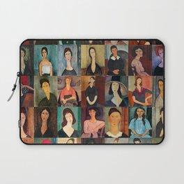 Amadeo Modigliani Montage Laptop Sleeve