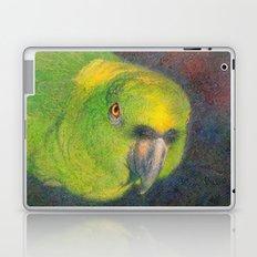 Green parrot Laptop & iPad Skin